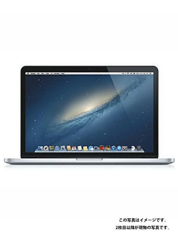 【Apple】【USキーボード仕様】アップル『MacBook Pro Retina 13.3-inch Early 2013』ME662J/A ノートパソコン 1週間保証【中古】