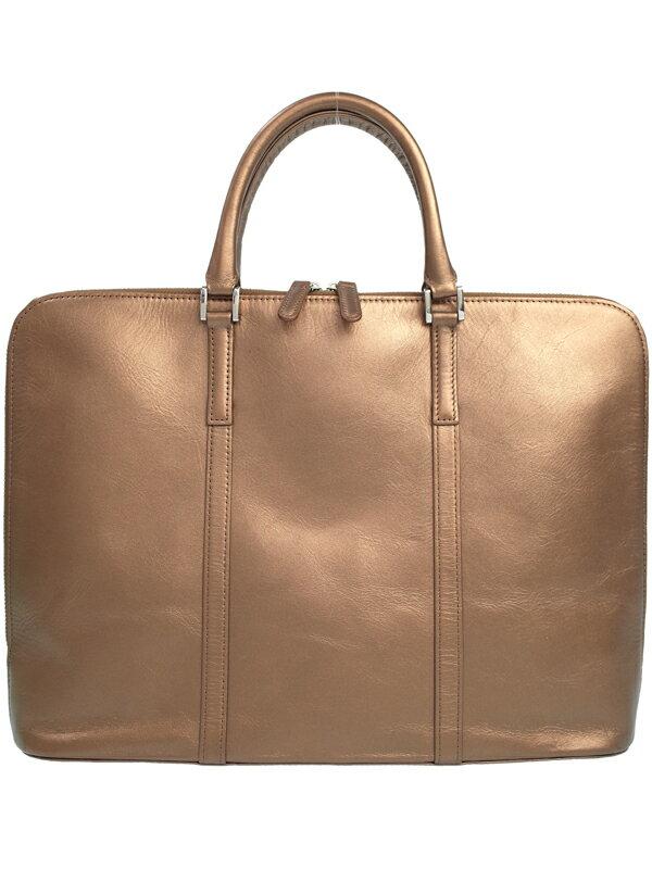 【Business Leather Factory】ビジネスレザーファクトリー『レザー ブリーフケース』メンズ ビジネスバッグ 1週間保証【中古】