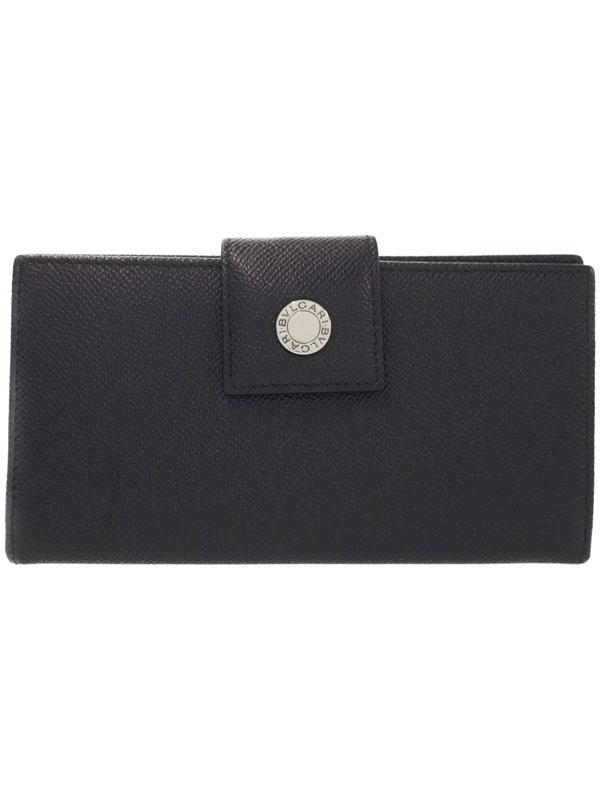 【BVLGARI】ブルガリ『クラシコ 二つ折り長財布』29732 メンズ 1週間保証【中古】