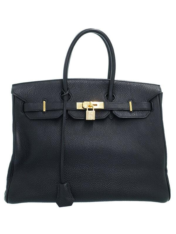 【HERMES】【ゴールド金具】エルメス『バーキン35』J刻印2006年製 レディース ハンドバッグ 1週間保証【中古】