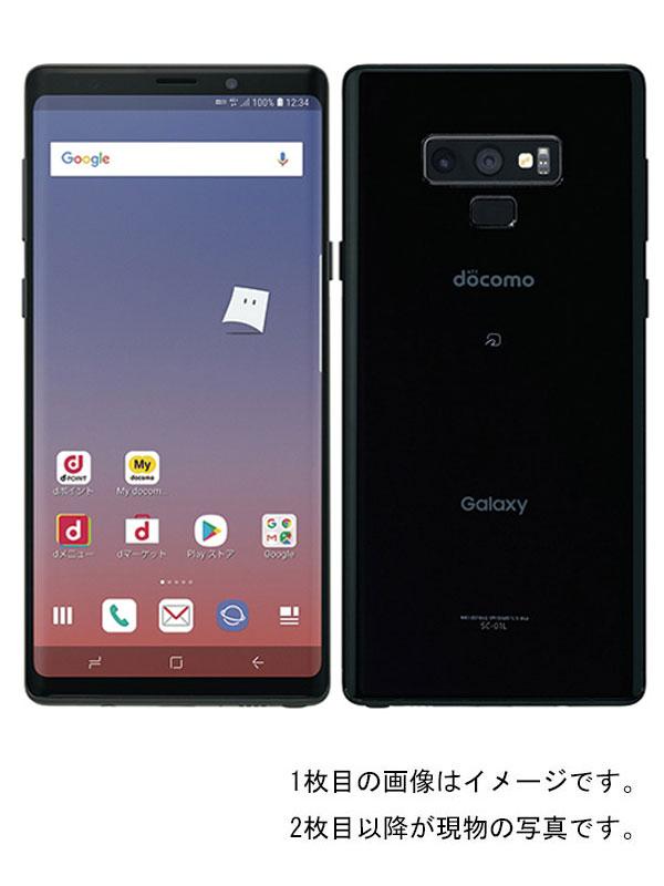 【SAMSUNG】【ギャラクシー】サムスン『Galaxy Note9 128GB ドコモのみ ミッドナイトブラック』SC-01L 2018年10月発売 スマートフォン 1週間保証【中古】