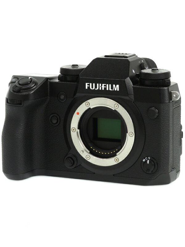 【FUJIFILM】富士フイルム『X-H1』2430万画素 APS-C SDXC 4K動画 ミラーレス一眼カメラ 1週間保証【中古】