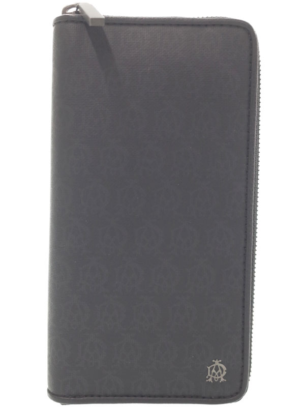 【Dunhill】ダンヒル『ウィンザー ラウンドファスナー長財布』L2B018A メンズ 1週間保証【中古】