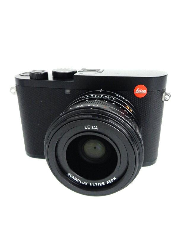 【Leica】ライカ『LEICA Q2』2019年 ブラック Wi-Fi 4730万画素 3インチ 4K動画 デジタルカメラ 1週間保証【中古】