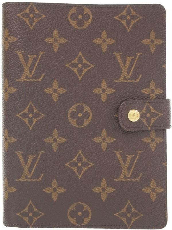 【LOUIS VUITTON】ルイヴィトン『モノグラム アジェンダ MM』R20004 メンズ レディース 手帳カバー 1週間保証【中古】