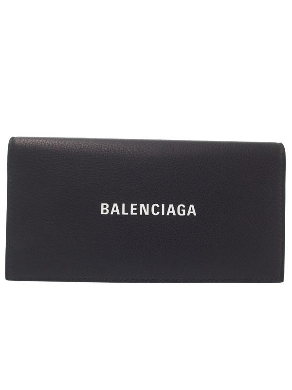 【BALENCIAGA】バレンシアガ『エブリデイ 二つ折り長財布』531522 メンズ レディース 二つ折り短財布 1週間保証【中古】