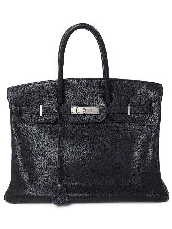 【HERMES】【シルバー金具】エルメス『バーキン35』D刻印 2000年製 レディース ハンドバッグ 1週間保証【中古】