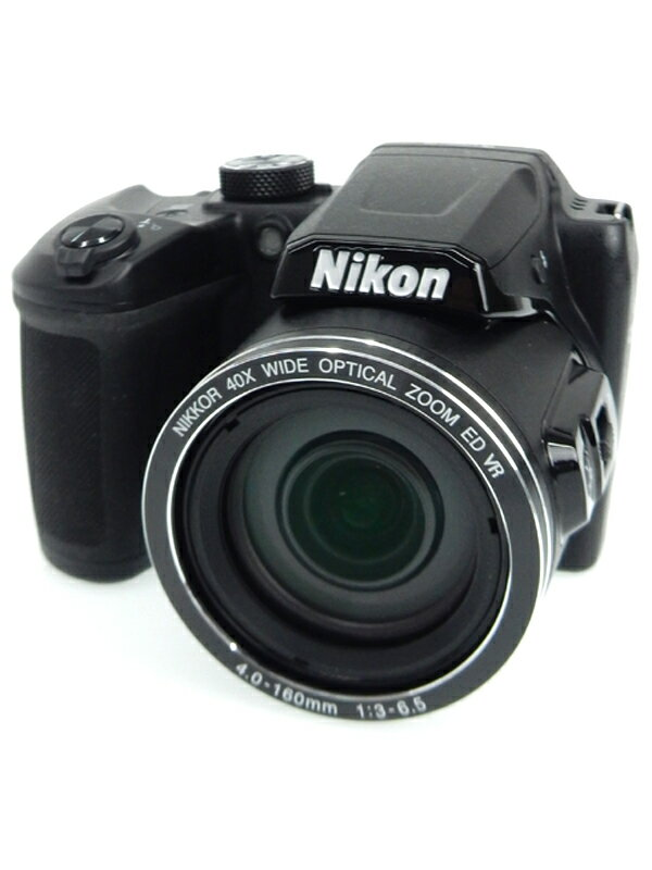 【Nikon】ニコン『COOLPIX B500』B500BK ブラック 1602万画素 光学40倍ズーム SDXC フルHD動画 コンパクトデジタルカメラ 1週間保証【中古】