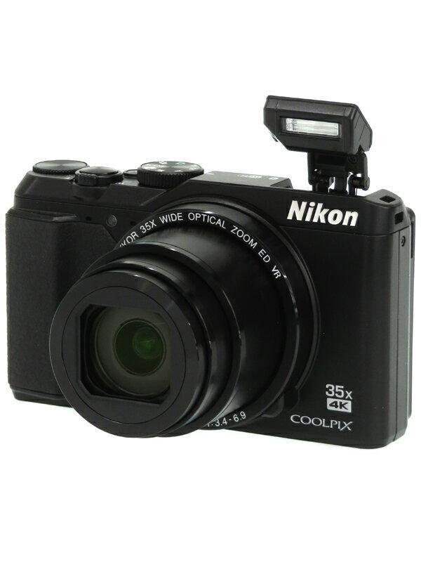 【Nikon】ニコン『COOLPIX A900』A900BK ブラック 2029万画素 光学35倍 SDXC 4K動画 コンパクトデジタルカメラ 1週間保証【中古】