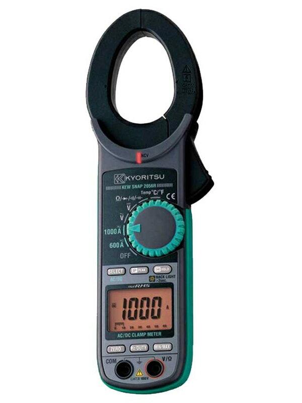【KYORITSU】共立電気計器『交流電流・直流電流測定用クランプメータ』KEW 2056R 測定工具 1週間保証【新品】