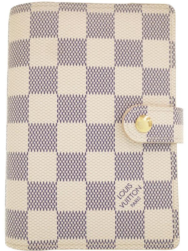 【LOUIS VUITTON】ルイヴィトン『ダミエ アズール アジェンダPM』R20706 メンズ レディース 手帳カバー 1週間保証【中古】