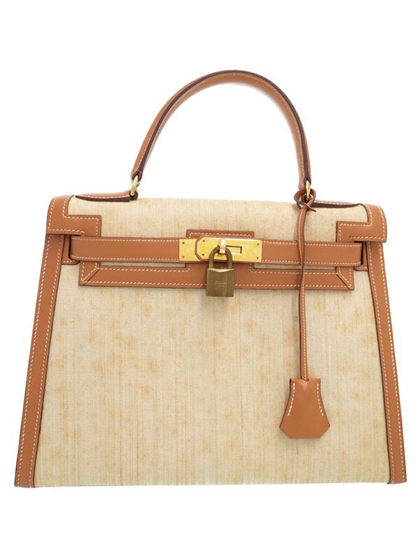 【HERMES】【ゴールド金具】エルメス『ケリー28 外縫い』O刻印 1985年製 レディース ハンドバッグ 1週間保証【中古】