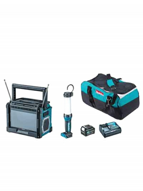 【makita】マキタ『防災用コンボキット』CK1010 充電式ライト・TV・スマートフォン充電・バッテリー・充電器 1週間保証【新品】