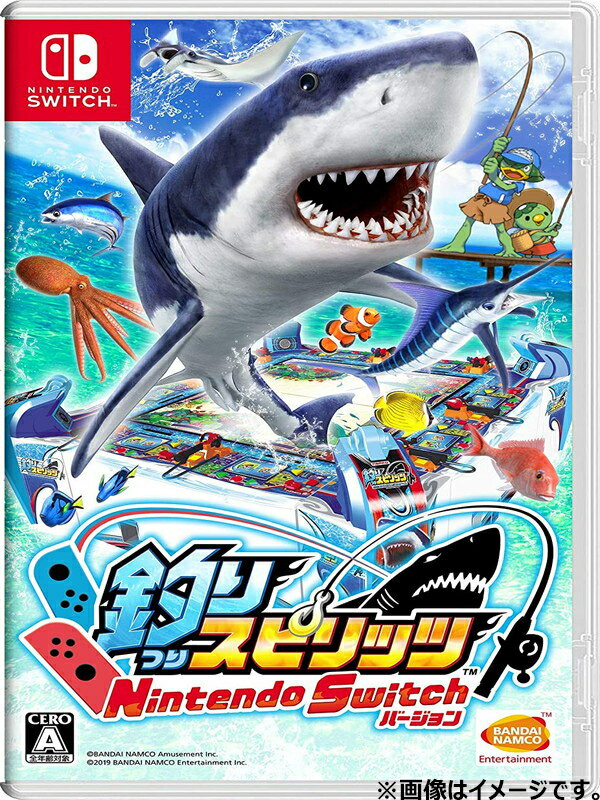 【Nintendo】任天堂 『釣りスピリッツ Nintendo Switchバージョン』 ゲームソフト 1週間保証【中古】