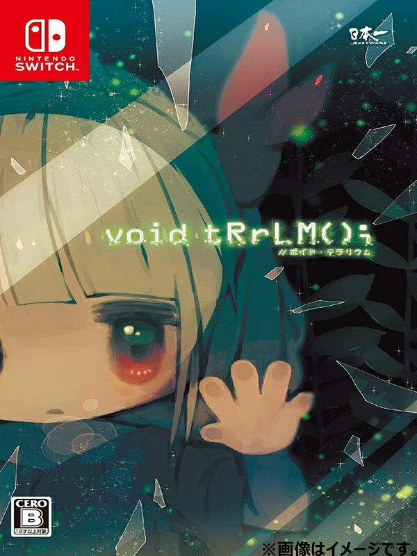 【Nintendo】任天堂 日本一ソフトウェア『void tRrLM(); //ボイド・テラリウム』 switch ゲームソフト 1週間保証【中古】