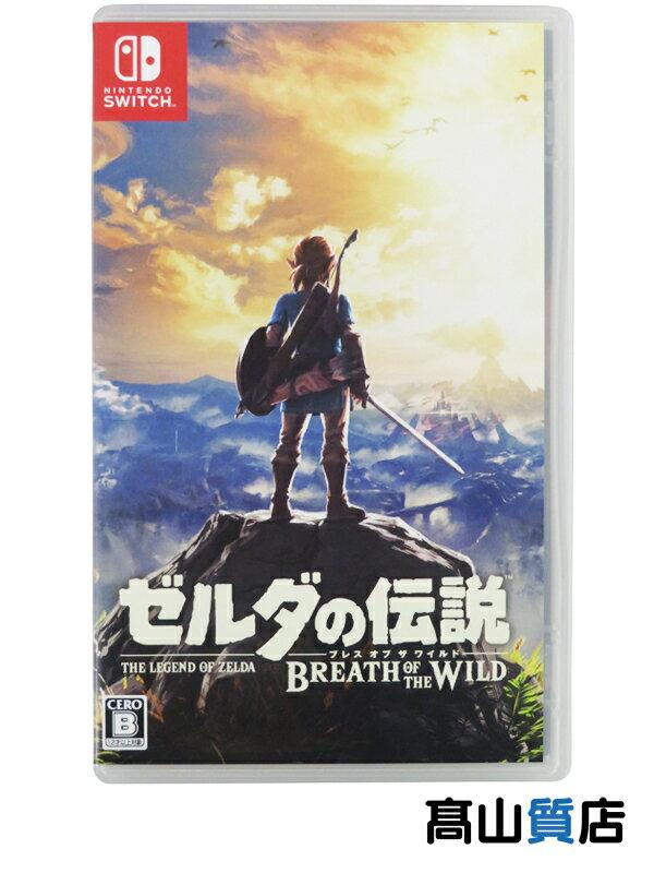 【Nintendo】任天堂 『ゼルダの伝説 ブレス オブ ザ ワイルド』 switch 1週間保証【中古】