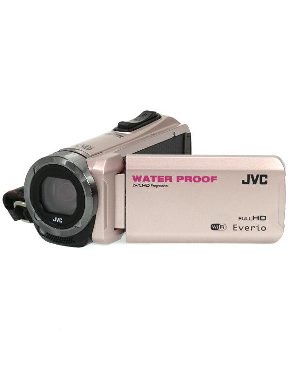 【JVC】ジェイブイシー『Everio(エブリオ)』GZ-RX500-N ピンクゴールド 光学40倍 64GB SDXC ハイビジョンメモリームービー ビデオカメラ 1週間保証【中古】