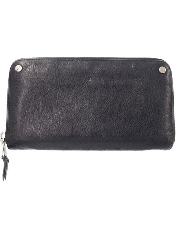 【BALENCIAGA】バレンシアガ『ラウンドファスナー長財布』541996 メンズ 1週間保証【中古】