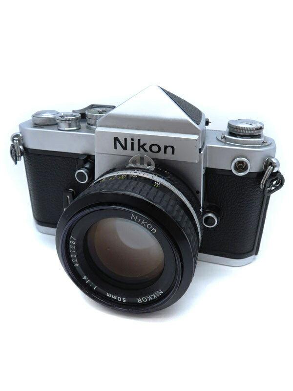 【Nikon】ニコン『F2 アイレベル Ai 50mmレンズ ファインダー モータードライブセット』一眼レフカメラ 1週間保証【中古】