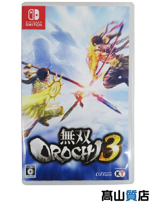 【Nintendo】任天堂 コーエーテクモゲームス『無双OROCHI3』switch ゲームソフト 1週間保証【中古】