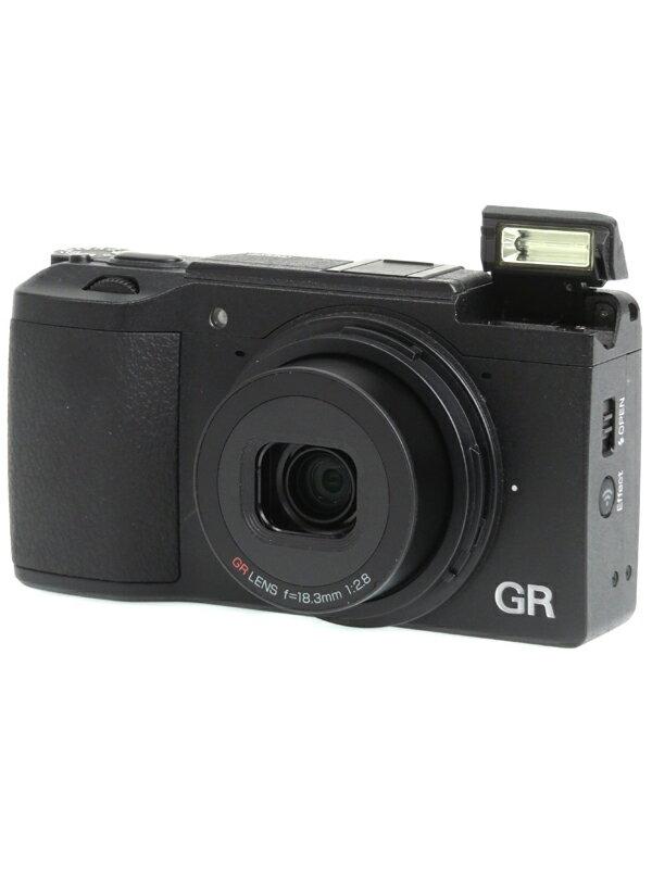 【RICOH】リコー『GR II』1620万画素 28mm相当 35mm/47mmクロップ フルHD動画 Wi-Fi コンパクトデジタルカメラ 1週間保証【中古】