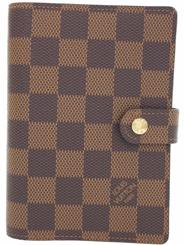 【LOUIS VUITTON】ルイヴィトン『ダミエ アジェンダ PM』R20700 メンズ レディース 手帳カバー 1週間保証【中古】