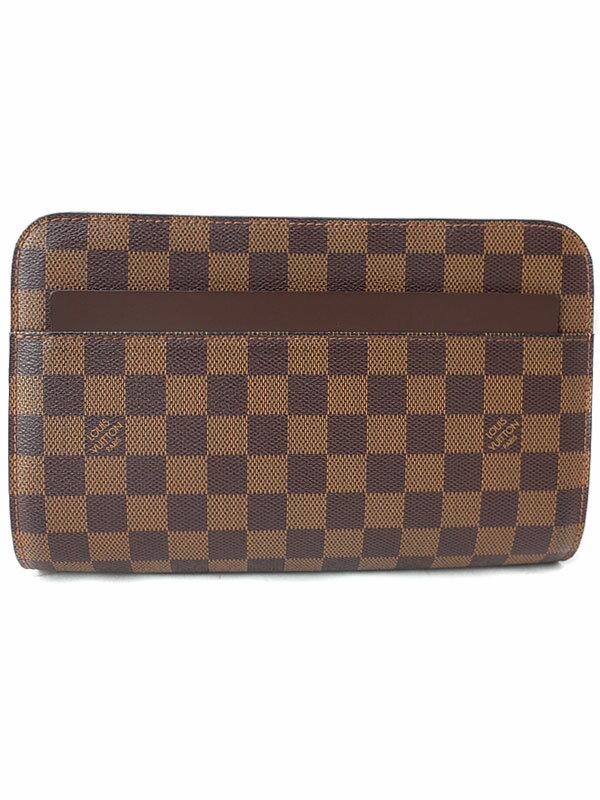 【LOUIS VUITTON】ルイヴィトン『ダミエ サンルイ』N51993 メンズ セカンドバッグ 1週間保証【中古】