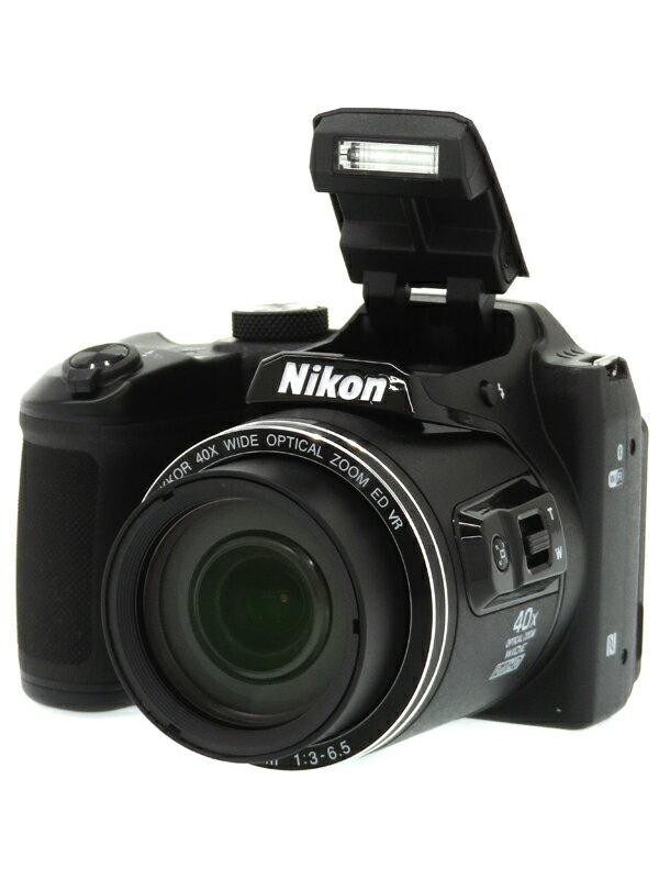 【Nikon】ニコン『COOLPIX B500』B500BK ブラック 1602万画素 光学40倍 SDXC フルHD動画 コンパクトデジタルカメラ 1週間保証【中古】