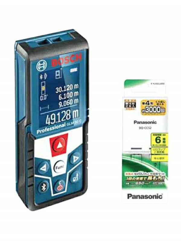 【BOSCH】ボッシュ『データ転送レーザー距離計』GLM 50CJ EVOLTA電池・充電器セット1週間保証【新品】