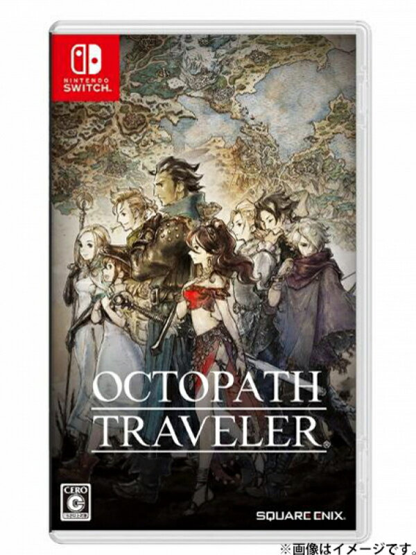 【Nintendo】任天堂 スクエニ『OCTOPATH TRAVELER』switch ゲームソフト 1週間保証【中古】