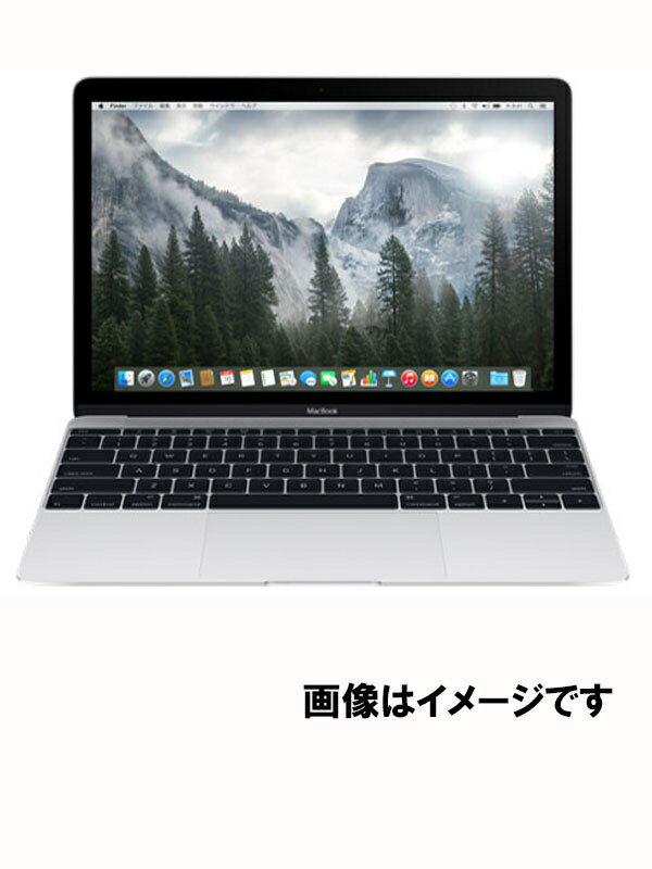 【Apple】アップル『MacBook 1100/12 MF855J/A シルバー』MF855J/A 2015 ノートパソコン 1週間保証【中古】