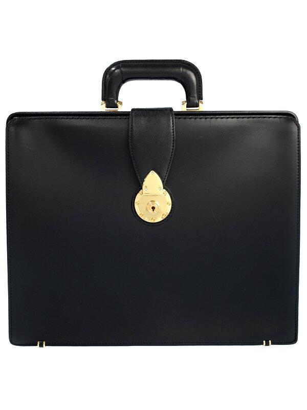土屋鞄製造所『レザー ダレスバッグ』メンズ ビジネスバッグ 1週間保証【中古】