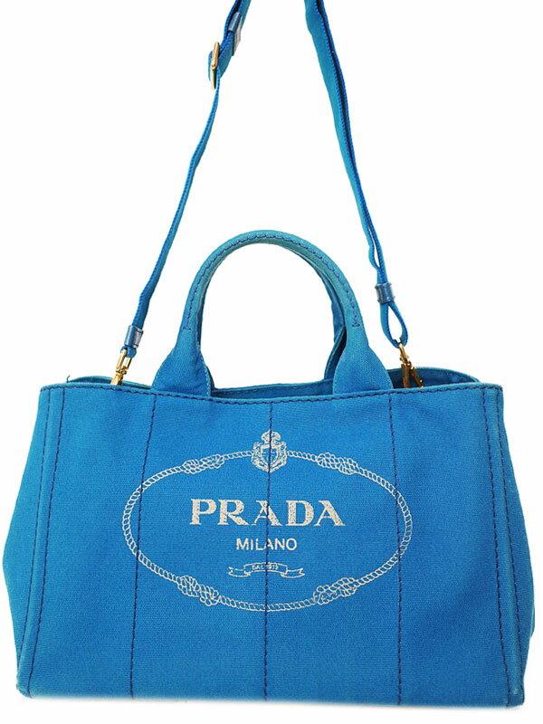 【PRADA】プラダ『カナパ 2WAYトートバッグ』BN2642 レディース 2WAYバッグ 1週間保証【中古】