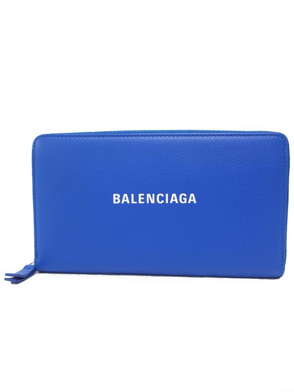 【BALENCIAGA】バレンシアガ『エブリデイ ラウンドファスナー長財布』551935 レディース 1週間保証【中古】