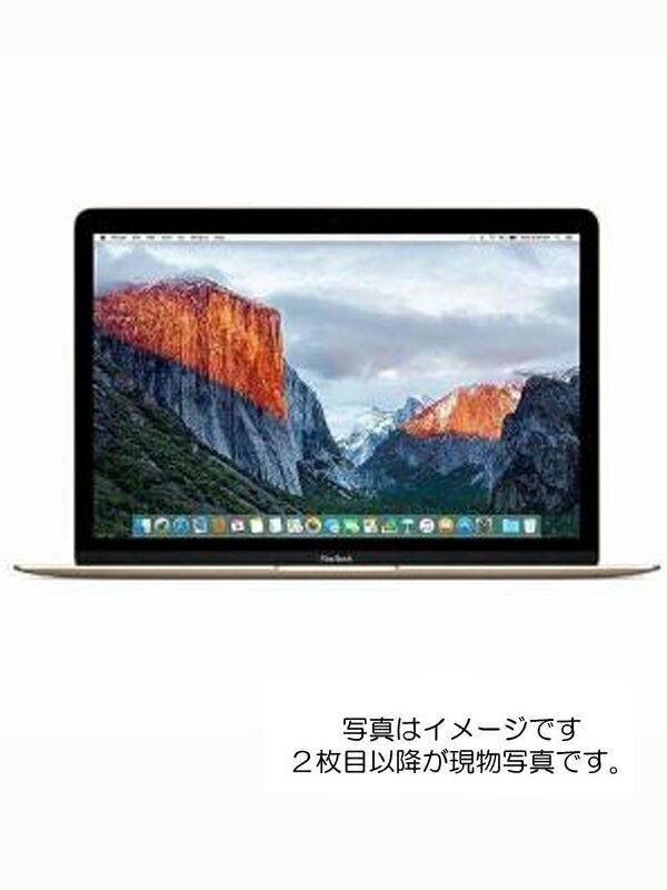 【Apple】【テレワーク】アップル『MacBook Retina 12-inch Mid 2017 ゴールド』MNYK2J/A Mid 2017 ノートパソコン 1週間保証【中古】