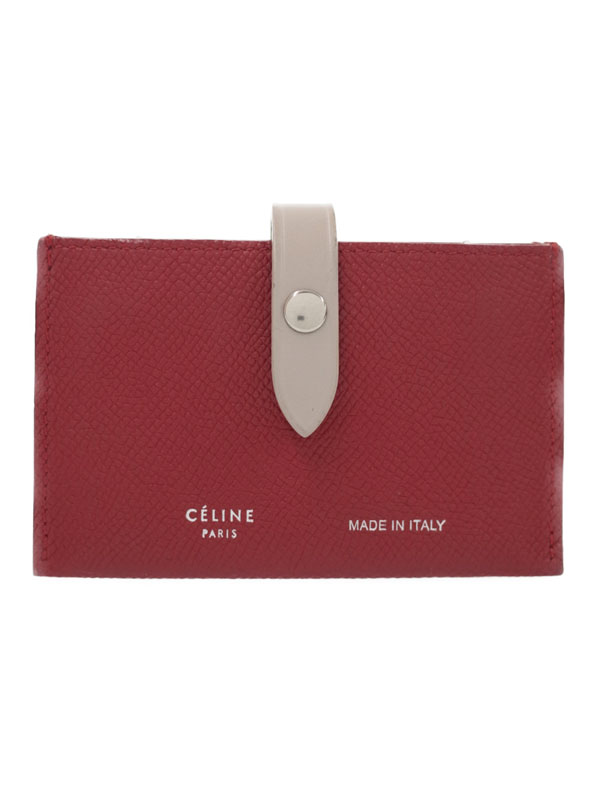 【CELINE】セリーヌ『アコーディオン カードホルダー』104323 メンズ レディース カードケース 1週間保証【中古】