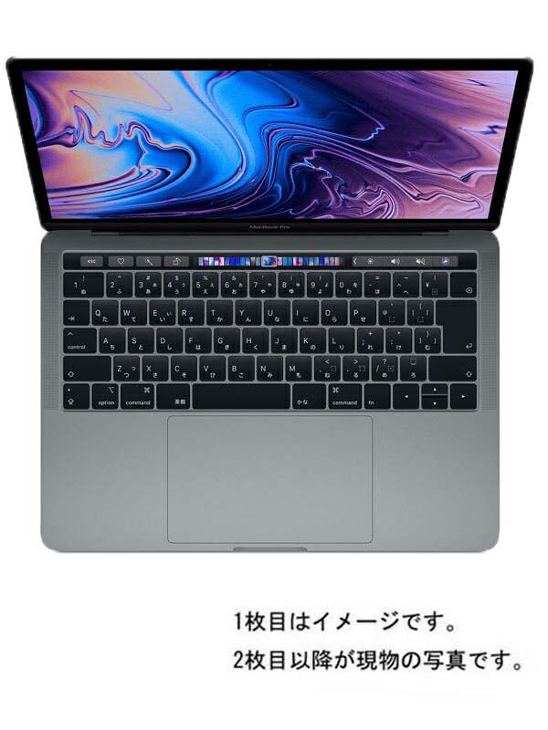 【Apple】【テレワーク】アップル『MacBook Pro 13.3-inch Mid 2018 スペースグレイ』MR9R2J/A Mid 2018 ノートパソコン 1週間保証【中古】