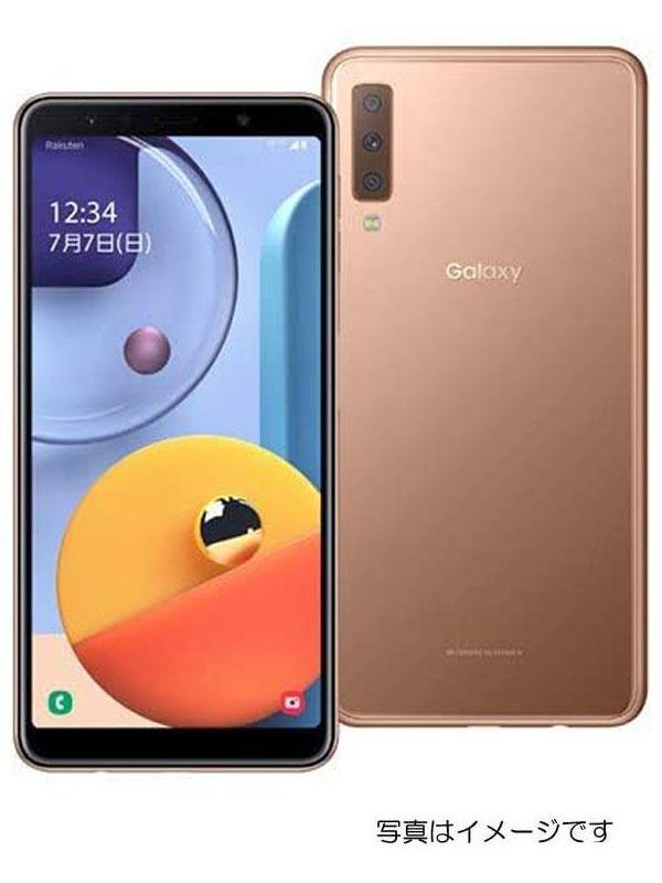 【SAMSUNG】【ギャラクシー】【未開封】サムスン『Galaxy A7 64GB SIMフリー ゴールド』SM-A750C 2019年10月発売 スマートフォン 1週間保証【中古】