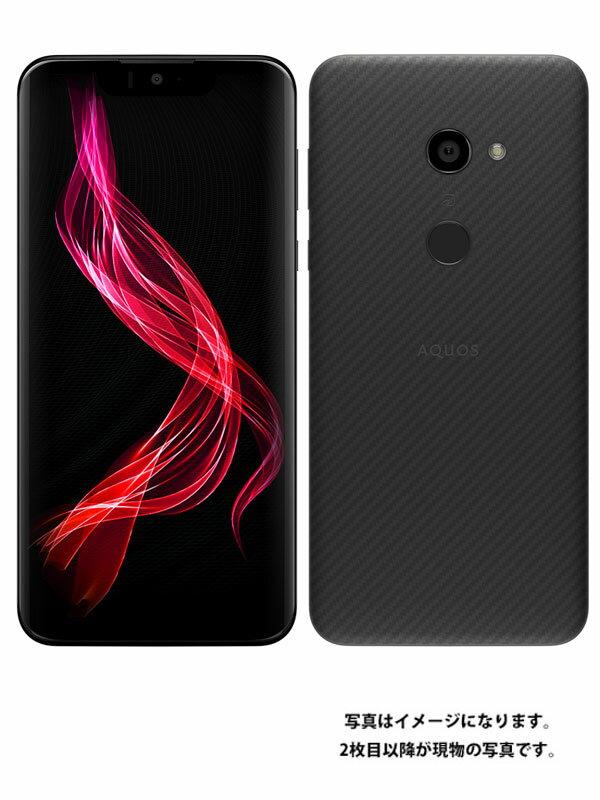【SHARP】【アクオス】シャープ『AQUOS ZERO 128GB SIMフリー アドバンスドブラック』SH-M10 2019年04月発売 スマートフォン 1週間保証【中古】