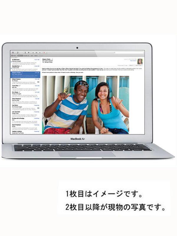 【Apple】アップル『MacBook Air 13.3-inch Mid 2013』MD760J/A Mid 2013 ノートパソコン 1週間保証【中古】