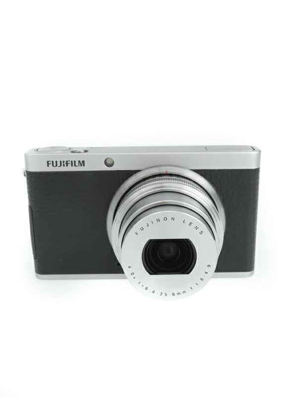 【FUJIFILM】富士フイルム『FUJIFILM XF1』F FX-XF1B ブラック 1200万画素 光学4倍 SDXC フルHD動画 コンパクトデジタルカメラ 1週間保証【中古】