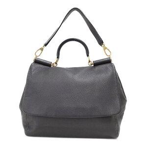 [DOLCE&GABBANA] Dolce & Gabbana Leather 2WAY Tote Bag Ladies 2WAY 1 week warranty [Used] b03b/h20AB