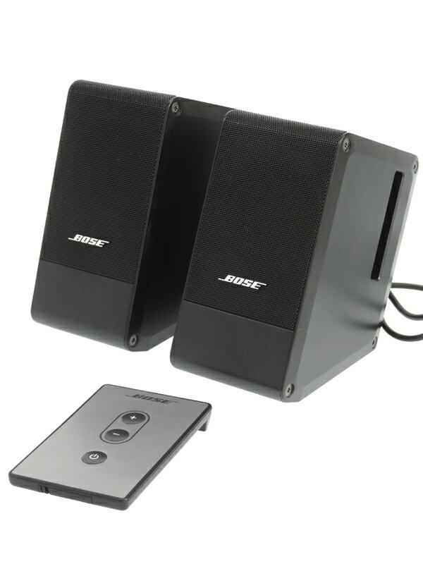 【BOSE】ボーズ『M2 Computer MusicMonitor』ブラック 2ch アンプ内蔵 スピーカー 1週間保証【中古】