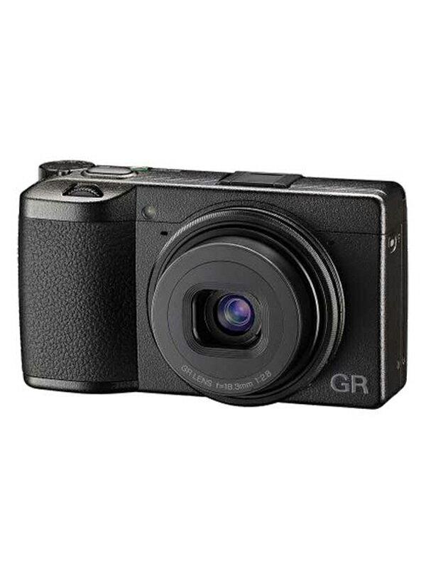 【RICOH】【未使用品】リコー『GR III』2424万画素 28mm相当 35mm/50mmクロップ フルHD動画 Wi-Fi コンパクトデジタルカメラ 1週間保証【中古】