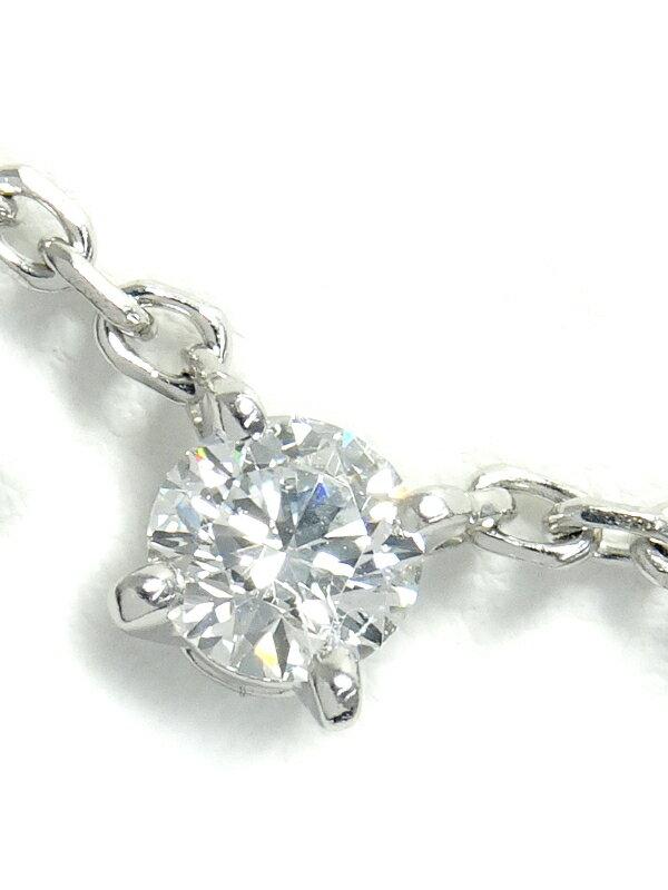 【Cartier】カルティエ『K18WG ラブサポート ペンダント ネックレス 1Pダイヤモンド』1週間保証【中古】