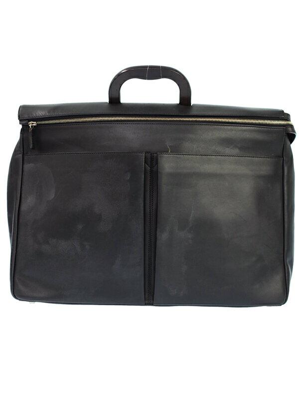 【BALLY】バリー『レザー ブリーフケース』メンズ ビジネスバッグ 1週間保証【中古】