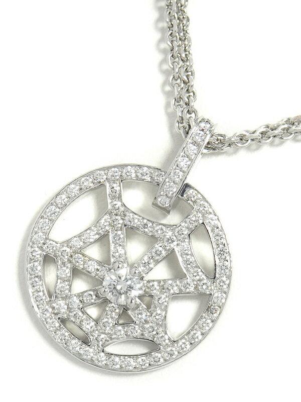 【CHAUMET】ショーメ『K18WG アトラップ・モア ダイヤモンド ペンダント ネックレス』1週間保証【中古】
