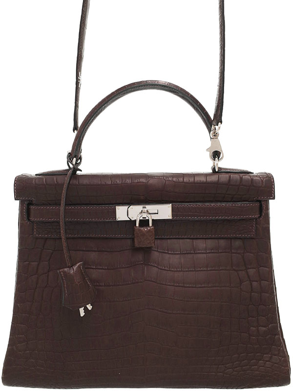【HERMES】【シルバー金具】エルメス『ケリー32 内縫い』C刻印 1999年製 レディース 2WAYバッグ 1週間保証【中古】