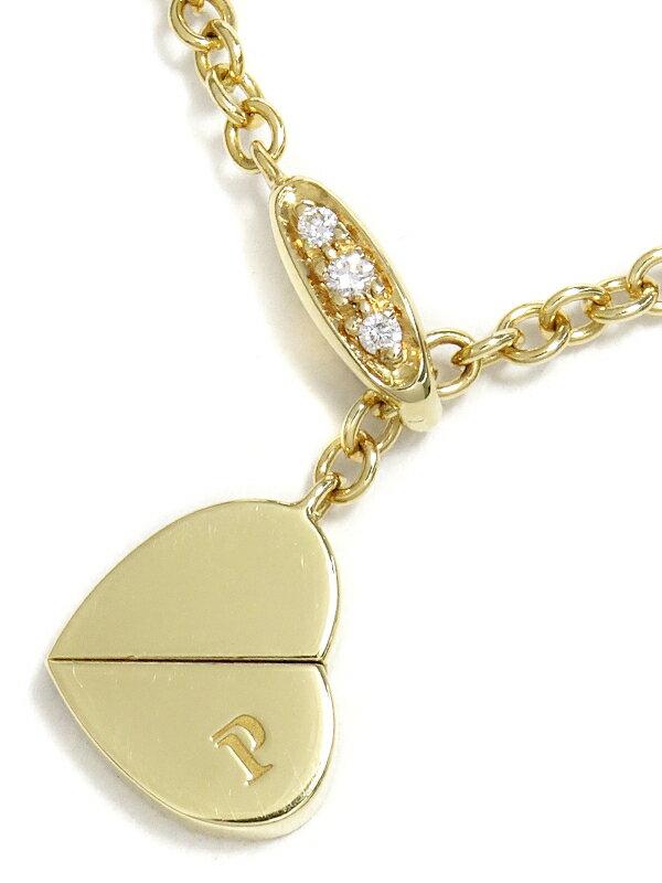 【PIAGET】ピアジェ『K18YG インヤン ネックレス ダイヤモンド』1週間保証【中古】