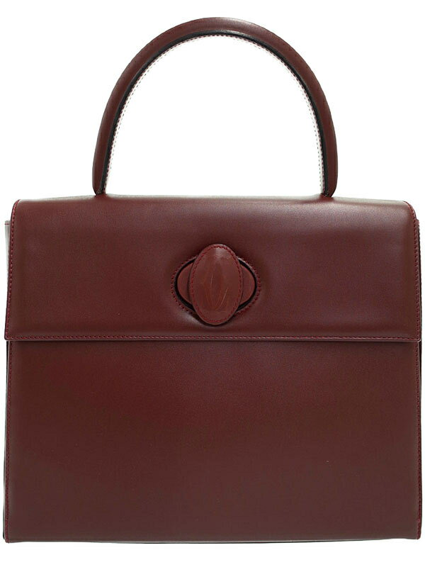 【Cartier】カルティエ『マストライン ハンドバッグ』レディース 1週間保証【中古】